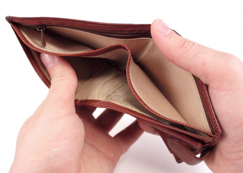 Resultado de imagen para empty wallet